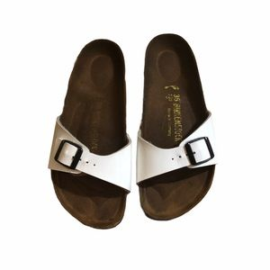 Women's Birkenstock White Sandals